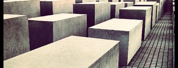 Monumento a los judíos de Europa asesinados is one of Allemagne ♥︎.