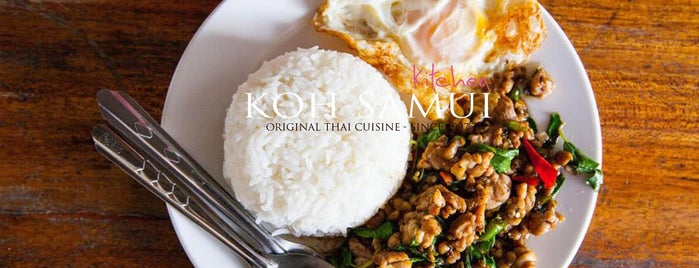 Koh Samui Kitchen is one of Tempat yang Disimpan Seti.