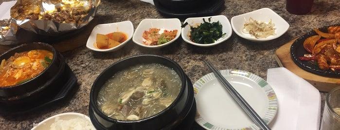 Kim Baek Korean Restaurant is one of Renda's Saved Places.