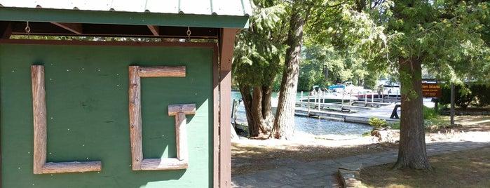 Glen Island is one of Lake George 2K19.
