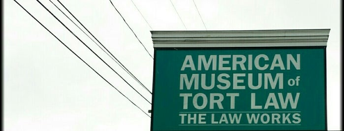American Museum of Tort Law is one of Stuff Near Pittsfield.