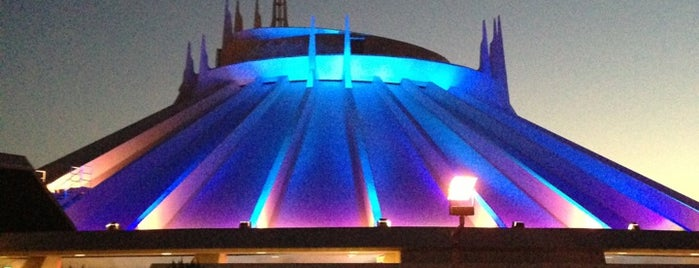 Space Mountain is one of Theme Parks!.