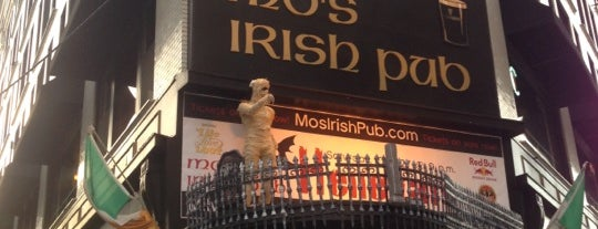 Mo's Irish Pub is one of Bars I've been to.