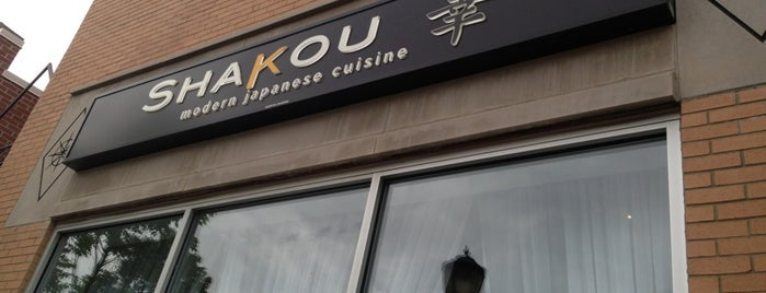 Shakou Sushi is one of Locais curtidos por Andrew.