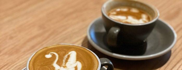 BLACK STAMP | Coffee & Roasters is one of Coffee shops | Riyadh ☕️🖤.