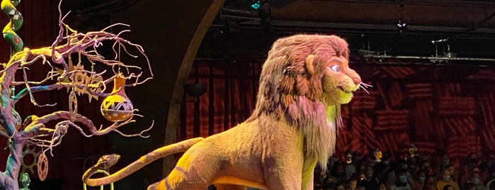 Festival of The Lion King is one of Top Orlando spots.