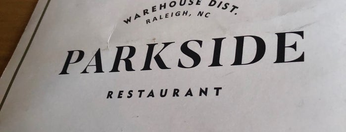 Parkside is one of Dinner spots 2.