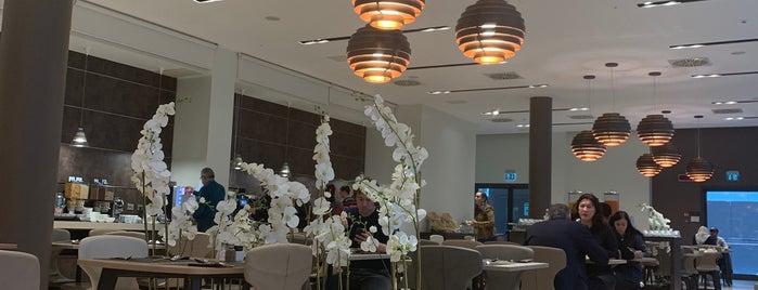Hilton Garden Inn Milan North is one of Tempat yang Disukai Oleksandr.