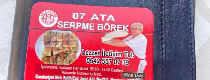 07 Ata Serpme Börek is one of สถานที่ที่บันทึกไว้ของ Aydın.