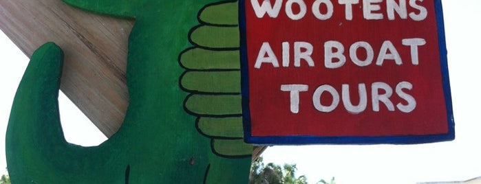 Wooten's Everglades Airboat Tours is one of Must eat & do in Floria.