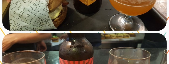 Bravo Burger Beer is one of Cerveza.