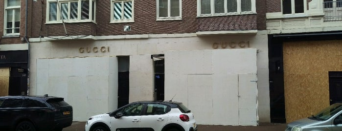 Gucci is one of Amsterdam- Shop till you drop.