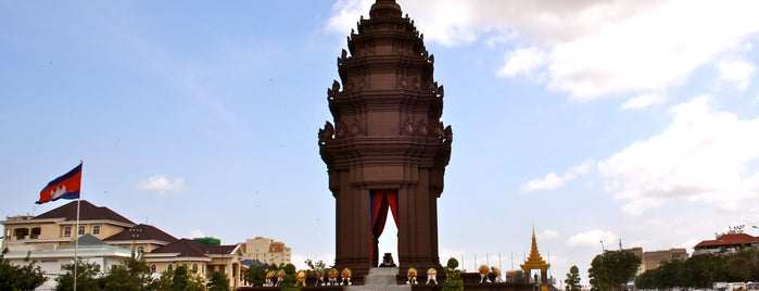 The Royal Palace ព្រះបរមរាជាវាំងនៃរាជាណាចក្រកម្ពុជា is one of cose da fare in cambogia.