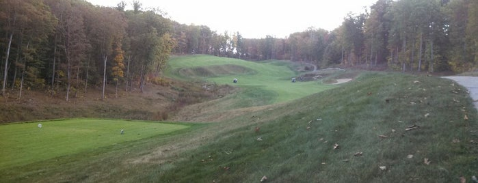 Woodhaven Golf Course is one of Tempat yang Disukai Josh.