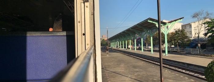 Saraburi Railway Station (SRT2007) is one of ลพบุรี สระบุรี.