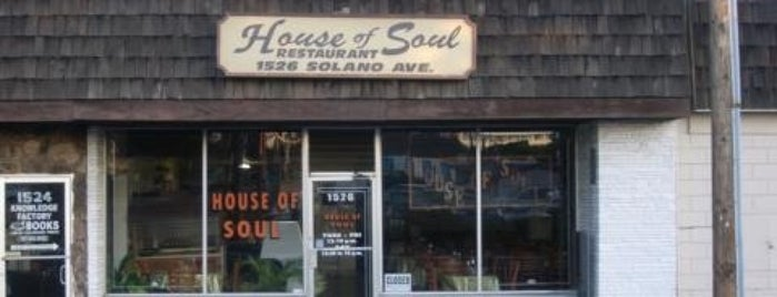 House Of Soul Restaurant is one of Ruby'un Kaydettiği Mekanlar.