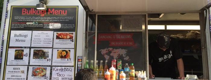 Bulkogi Korean BBQ is one of Food Trucks.