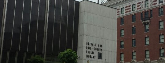 Buffalo & Erie County Public Library is one of Buffalo.