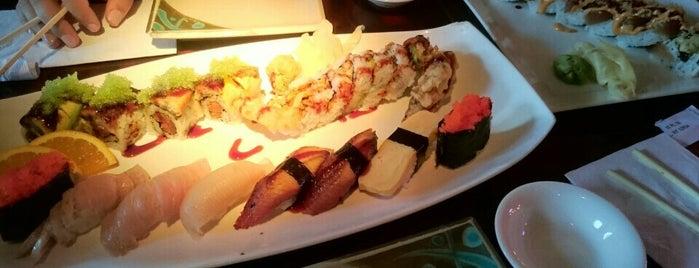 U-Me Sushi is one of สถานที่ที่ Krissy ถูกใจ.