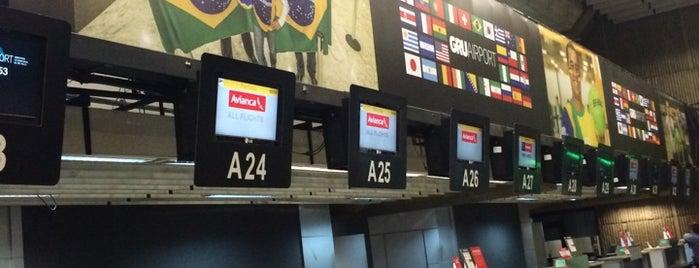Flughafen São Paulo / Guarulhos International (GRU) is one of สนามบินนานาชาติ (1).