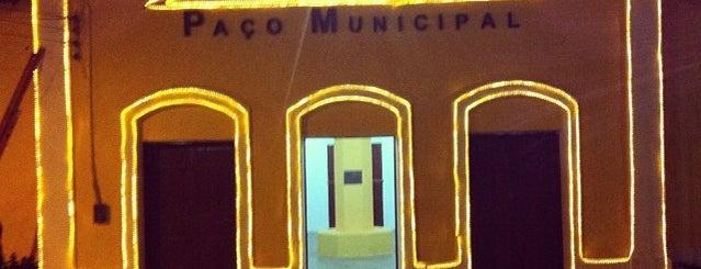 Prefeitura Municipal de Acarape is one of Lugares favoritos de Pedro.