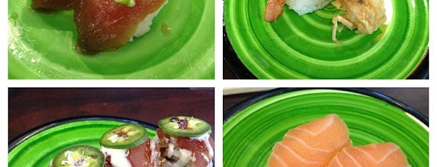 Kura Revolving Sushi and Bar is one of Sushi.