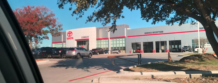 Cowboy Toyota is one of Increase your Dallas City iQ.