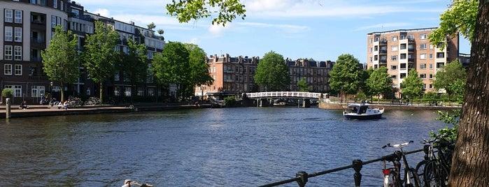 Kattenslootbrug (Brug 155) is one of Amsterdam.