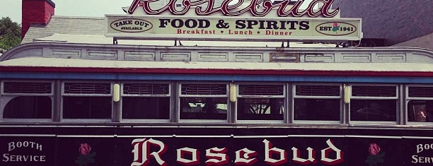 Rosebud Diner is one of TNGG Recommends.