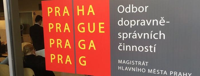 Registr řidičů is one of Anna : понравившиеся места.