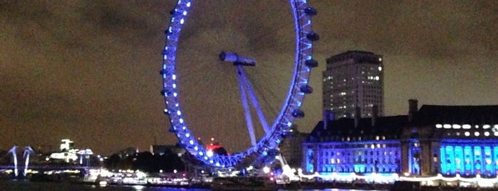 The London Eye is one of London, UK.