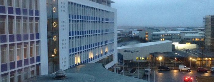 Radisson Blu Saga Hotel Reykjavik is one of Orte, die Jose gefallen.