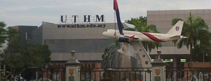 Universiti Tun Hussein Onn Malaysia (UTHM) is one of Learning Centers #2.