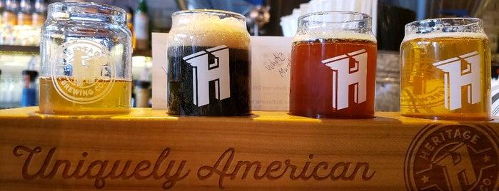 Heritage Brewpub & Roastery is one of US: VA Night.
