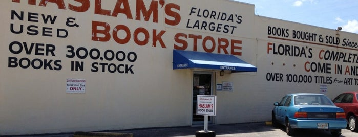 Haslam's Book Store is one of St Pete.
