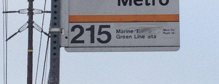 Metro Bus Stop #2688 is one of Posti che sono piaciuti a Shamika.
