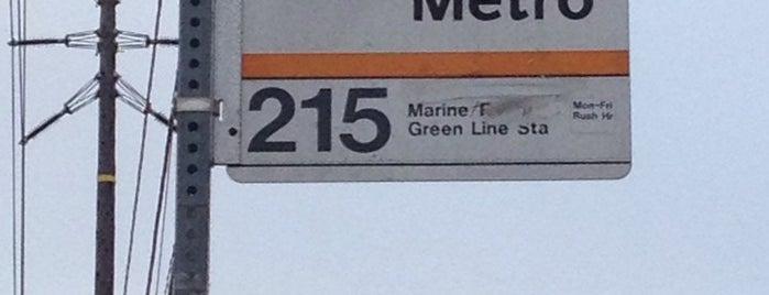 Metro Bus Line 215 is one of Posti che sono piaciuti a Shamika.