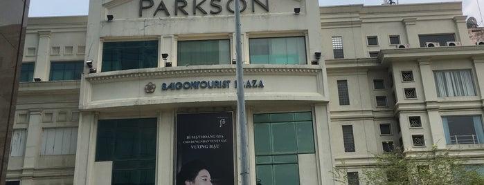 Parkson Saigon Tourist is one of SE Asia March-April2012.