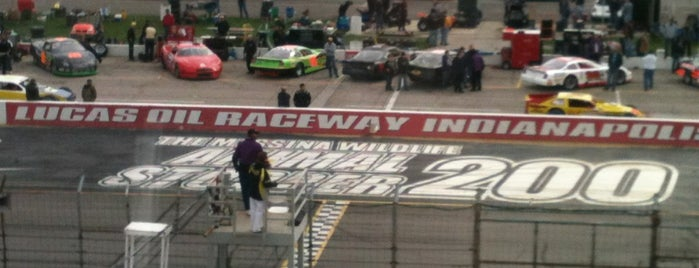 Lucas Oil Raceway at Indianapolis is one of Lieux qui ont plu à Dwain.