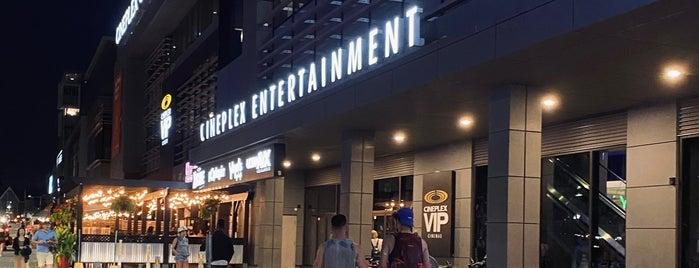 Cineplex Cinemas is one of Ottawa, CN.