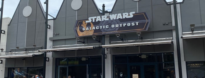 Star Wars Galactic Outpost is one of Disney October 2016.