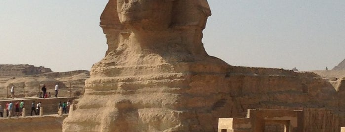 Great Sphinx of Giza is one of Go Ahead, Be A Tourist.