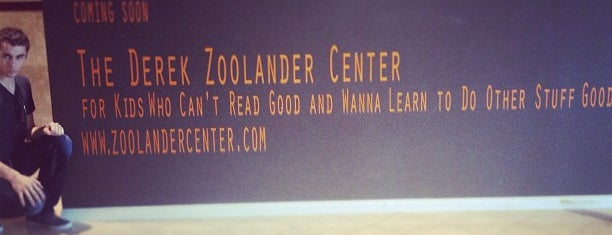 Zoolander Center for Kids Who Can't Read Good is one of Places I want to try out II (eateries).