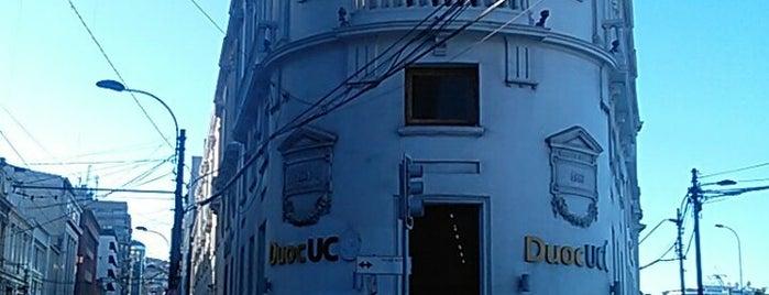 Edificio Luis Cousiño - Duoc UC is one of Locais curtidos por Patricio.