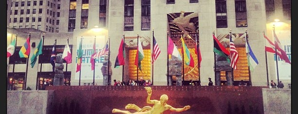 Rockefeller Center is one of NYC TRIP.