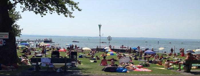 Strandbad Friedrichshafen is one of Friedrichshafen.