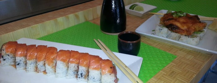 Sushi Seven is one of Locais salvos de Sharon.