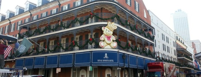 Royal Sonesta New Orleans is one of Davidさんのお気に入りスポット.