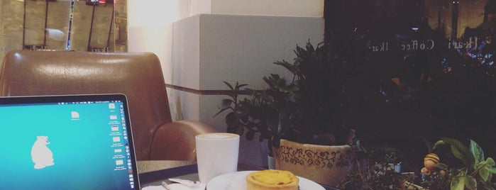 怡客咖啡 Ikari Coffee is one of Locais curtidos por Elona.