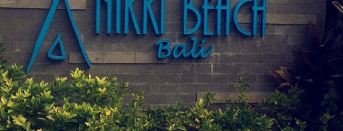 Nikki Beach Bali is one of Posti che sono piaciuti a Maria.